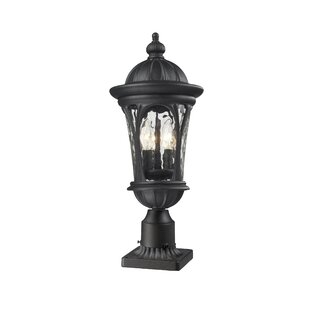 Outdoor column mount light wayfair lowther outdoor pier mount light aloadofball Image collections