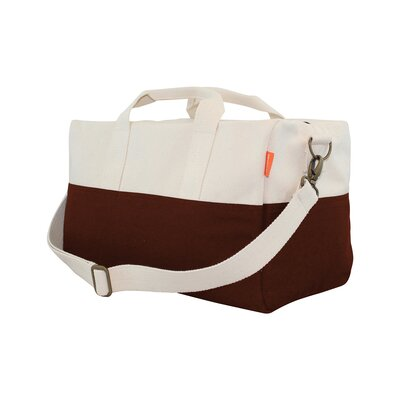 "10.5"" Duffel Bag Cb Station Color: Brick Red"