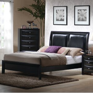 Upholstered Panel Bed by Latitude Run