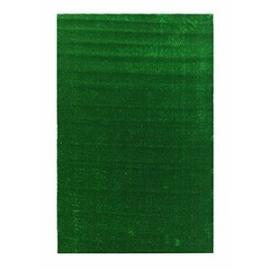 Grassland Artificial Grass Turf Solid Green Indoor/Outdoor Area Rug