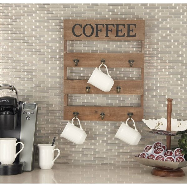 Wall Mounted Coffee Mug Rack Wayfair