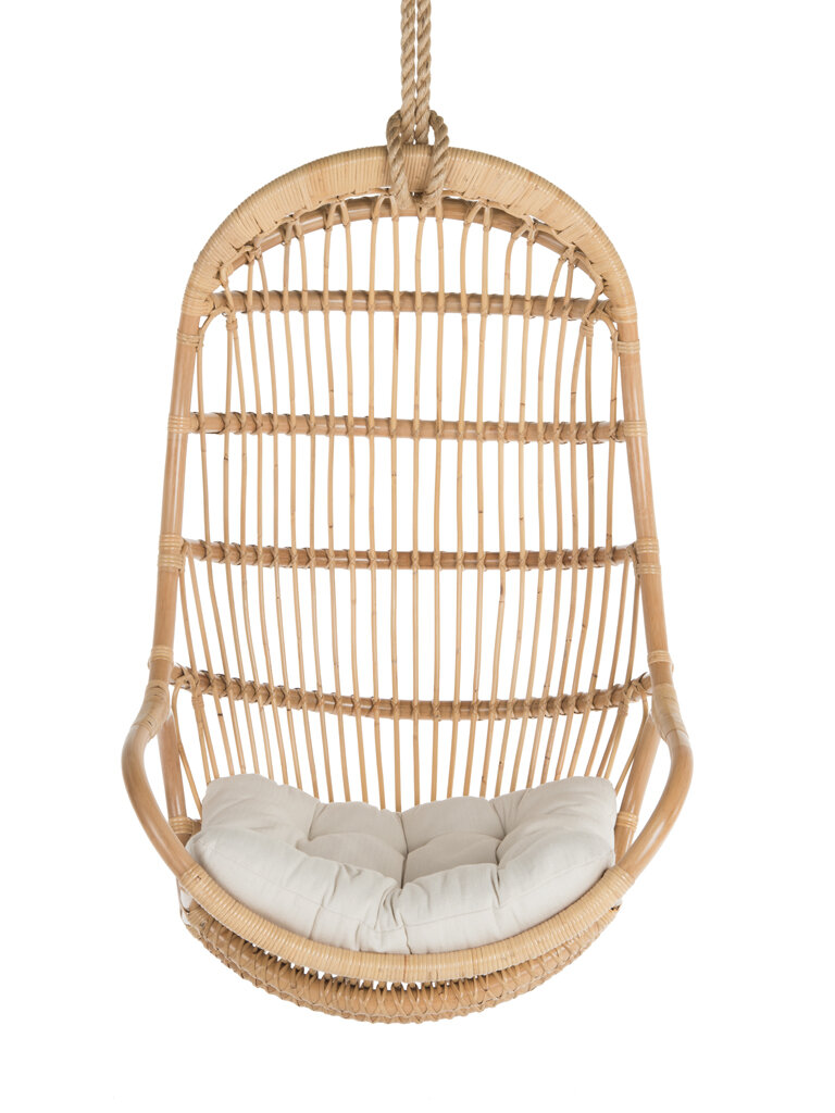 Incroyable Bungalow Rose Blucher Hanging Rattan Swing Chair U0026 Reviews | Wayfair