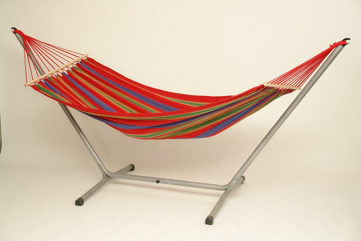 aruba jet cotton hammock with stand byer of maine aruba jet cotton hammock with stand  u0026 reviews   wayfair  rh   wayfair