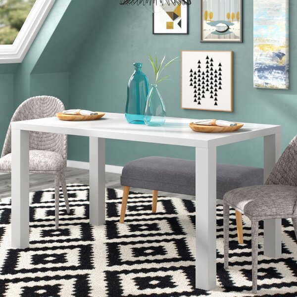 Rollins Console Table: Brayden Studio Mcwhorter Dining Table & Reviews