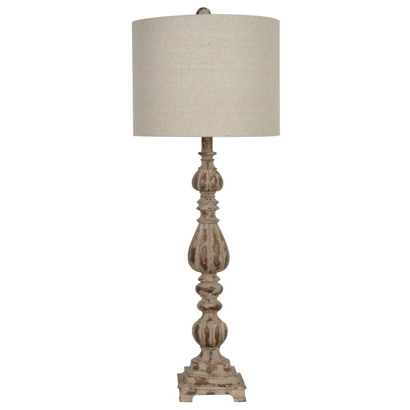 "Bedroom Colour Red Bedroom Chandeliers Cheap Bedroom Colors Brown Furniture Bedroom Sets Antique White: Crestview Slender Avian 34.5"" Table Lamp & Reviews"