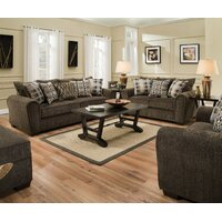 Pleasant Avenue Storage Ottoman  sc 1 st  Wayfair & Loon Peak Pleasant Avenue Configurable Living Room Set | Wayfair
