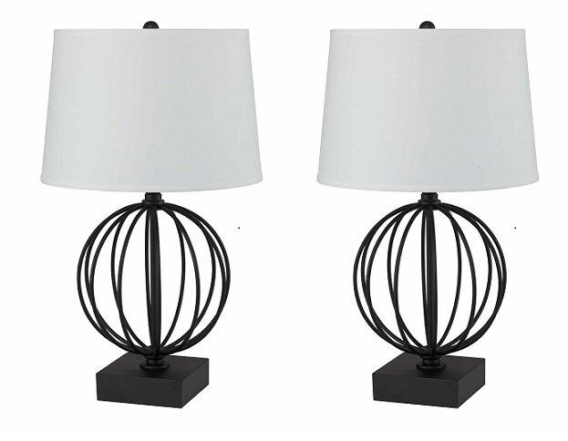 Lampe de bureau réglable pratiko métal d h cm