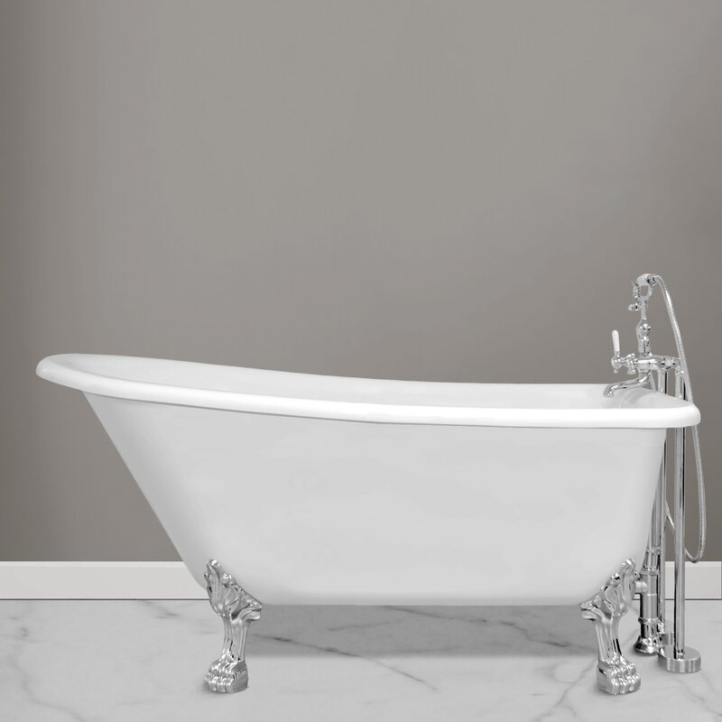"jade bath picadilly 69.25"" x 28.75"" soaking bathtub 