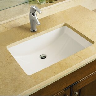 Quickview 5 Kohler Ladena Ceramic Rectangular Undermount Bathroom Sink