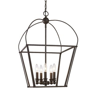 Gladding 5-Light Foyer Pendant