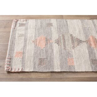 Attractive Gray And Coral Area Rug | Wayfair AB87