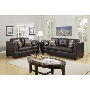 Red Barrel Studio Scheuerman 2 Piece Living Room Set