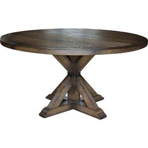 reclaimed wood dining room table. Armancourt Reclaimed Wood Round Dining Table Kitchen  Tables You ll Love Wayfair