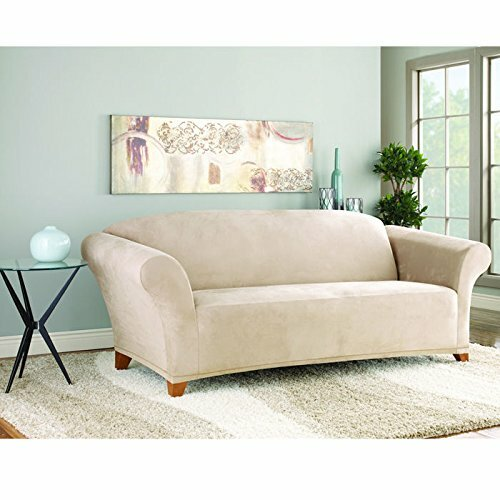 Sofa Slipcover With Separate Cushion Covers