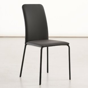 Gigi Genuine Leather Upholstered Dining Chair