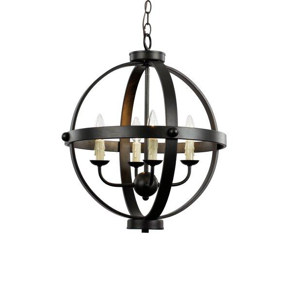 Transglobe Lighting Old World Sphere 4 Light Globe Pendant Reviews Wayfair