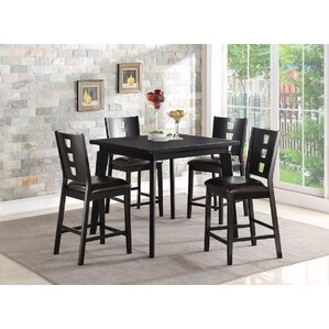 5 Piece Counter Height Dining Set by Infini Furnishings