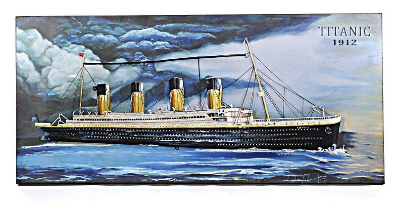 Old Modern Handicrafts Titanic 3D Painting Wall Décor | Wayfair