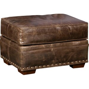 Jude Leather Ottoman by Bradington-Young