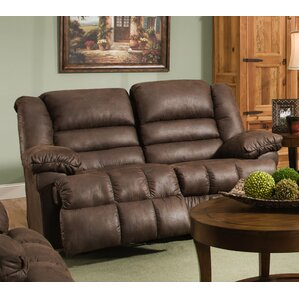 Simmons Upholstery Pickering Motion Reclining Loveseat by Darby Home Co