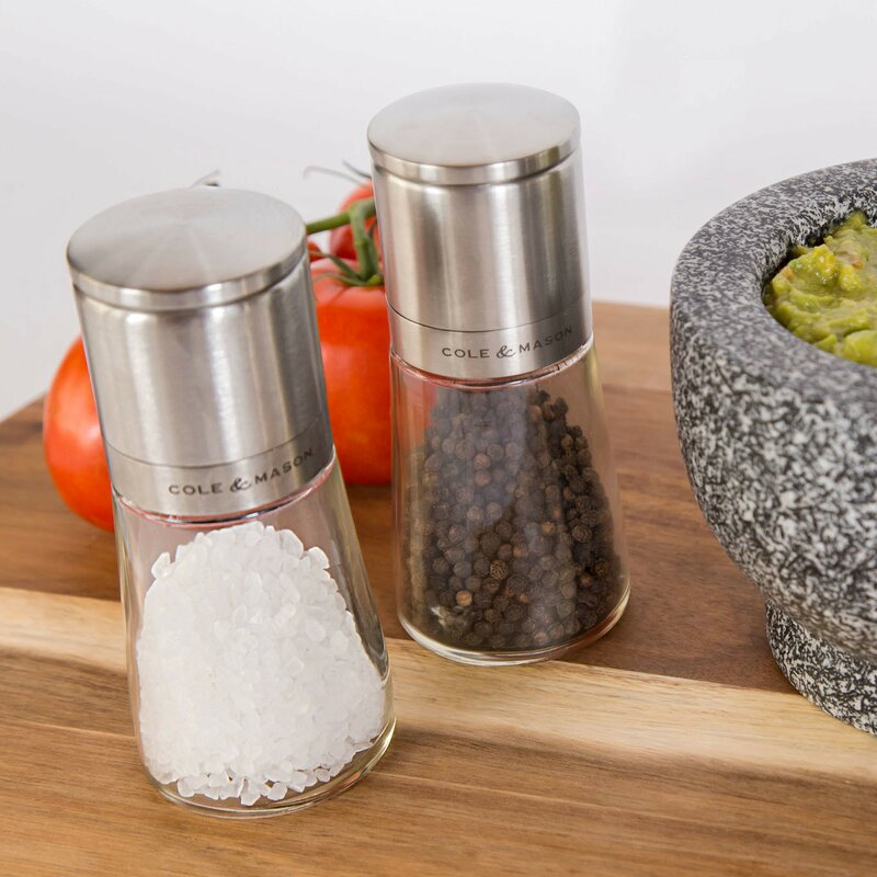 Cole & Mason Clifton 2 Piece Salt and Pepper Mill Set & Reviews ...