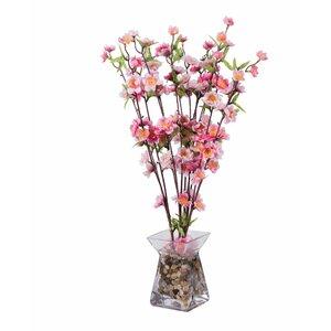 Blossom Floral Arrangements in Glass Vase