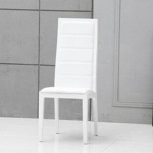 Camron Elegant Upholstered Dining Chair (Set of 2)