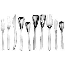 isla splendid 45 piece flatware set