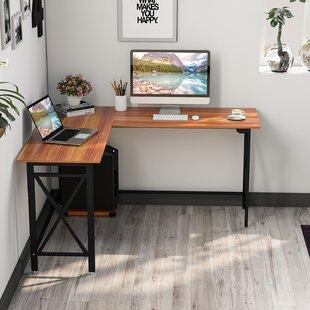 Dipama L Shaped Computer Desk
