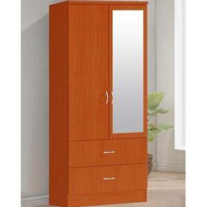 2 Door Armoire by Hodedah