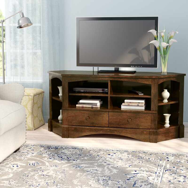 Beachcrest Home Pinellas Corner Tv Stand For Tvs Up To 60