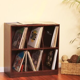 Multimedia Record Tabletop Storage