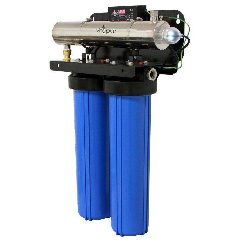 Ultraviolet Whole House Water Disinfection And Filtration System