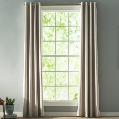 Linden streettm single curtain rod