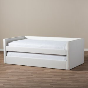 Baxton Studio Daybed with Trundle by Wholesale Interiors