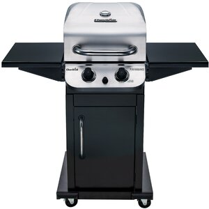 Performance 2-Burner Propane Gas Grill with Cabinet