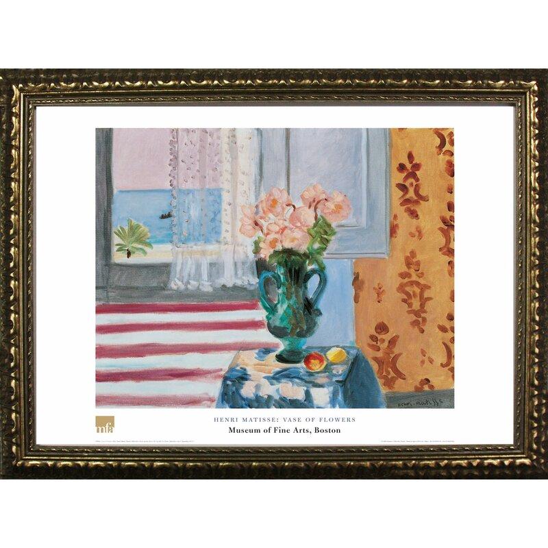 Buy Art For Less Vase Of Flowers By Henri Matisse Framed Painting