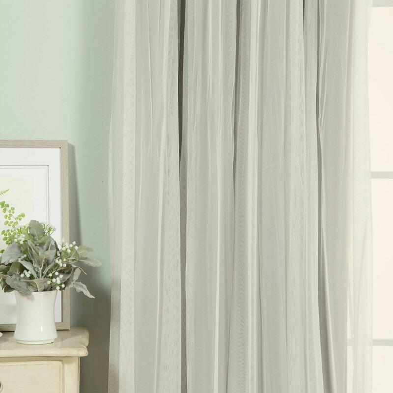 Brockham Thermal Grommet Curtain Panels Amp Reviews Joss