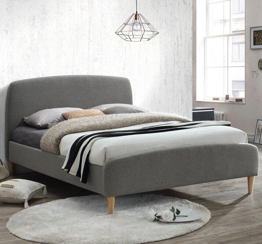 Home & Haus Quebec Upholstered Bed Frame & Reviews
