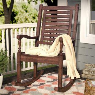 Chaises berçantes de jardin: Couleur du cadre - Brun ...