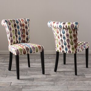 Baltique Dining Chair (Set of 2) by Bungalow Rose