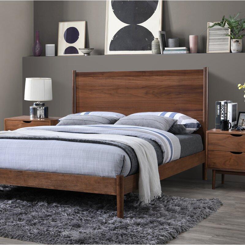 Hibbs Queen Platform 3 Piece Bedroom Set