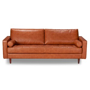 Laguna Hills Leather Sofa by Trent Austin Design