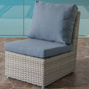 Killingworth Weather Resistant Resin Wicker Patio Armless Chair With  Cushions Amazing Ideas