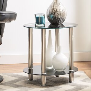 Eduardo Round End Table by Zipcode Des..