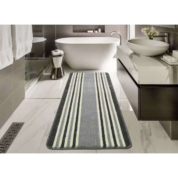 Andover Mills Carreras Light Gray Bath Mat Reviews Wayfair