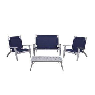 586f2f616f Modern Gray Outdoor Dining Sets | AllModern