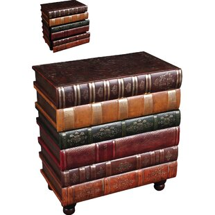 Superbe Florentine Books End Table