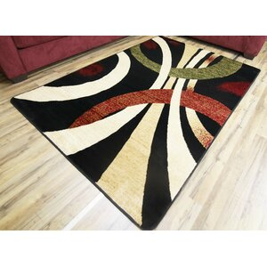 Sevyn Black Area Rug