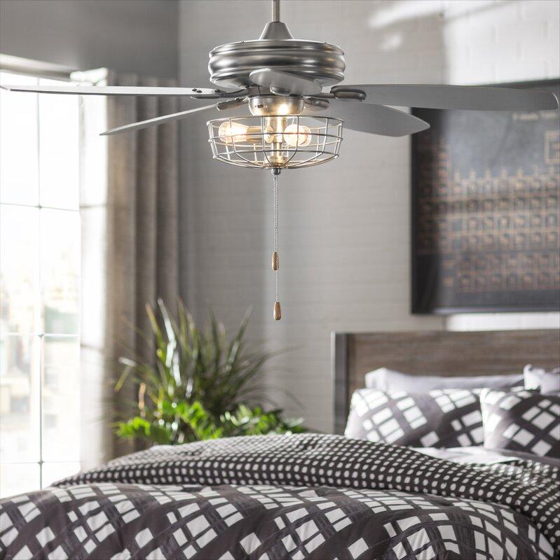 "Trent Austin Design 52"" Kyla 5-Blade Ceiling Fan & Reviews"